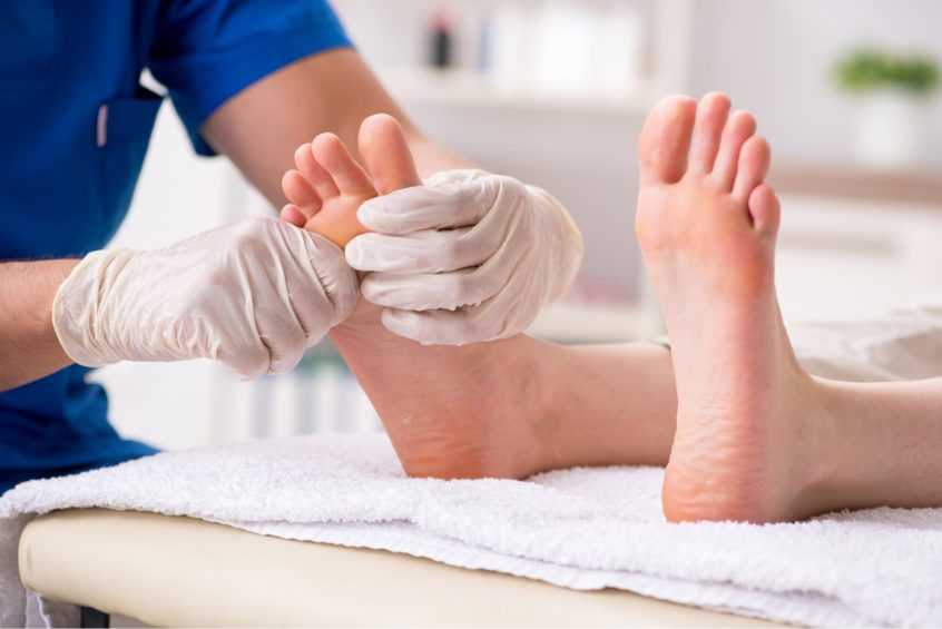 Essex Union Podiatry offers a walk-in wart treatment clinic