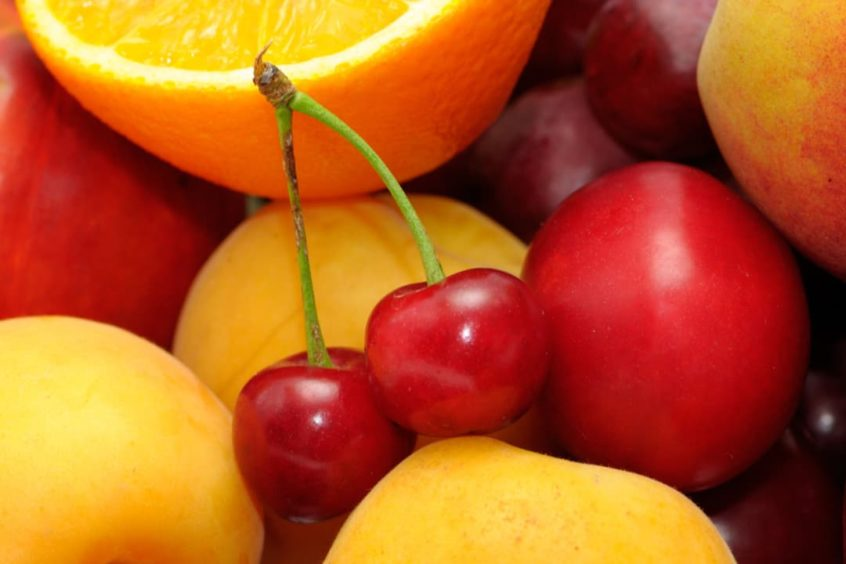 Cherries and vitamin C may be protective against gout